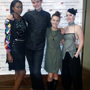 Brent Brashear, Chainey Turner and models Myah Winbush and Kelly Hollan
